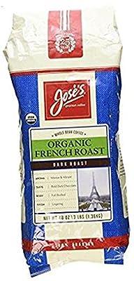 Organic French Roast Whole Bean Coffee 3 Lbs/ 48 Oz