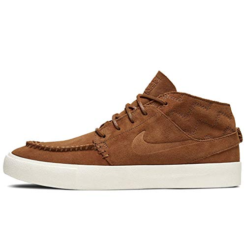 Nike Zoom Janoski Mid Rm Crafted - lt British tan/lt British tan-Black, Größe:8