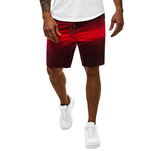 Briskorry Herren Schnell Trocknend Shorts Männer Bermuda Kurze Hose Sport Shorts Mit Reißverschlusstasch Badehose Badeshorts Boxershorts Jogginghose Sweatshorts Sporthose