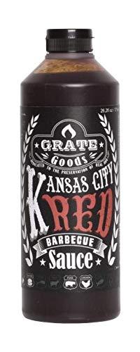 GRATE GOODS Kansas City Red Barbecue Sauce Soße Grill Größe-ml 775ml