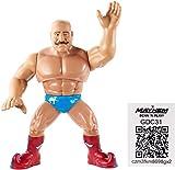"WWE Retro App Hierro Sheik Figura Serie 8 4.5"" Lucha Libre Mattel Figura..."