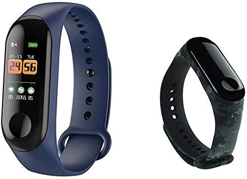 Reloj inteligente IP68 resistente al agua, monitor de frecuencia cardíaca, monitor de actividad física, deporte, pulsera inteligente (color: opción 15 correas) - Opción 13 correas