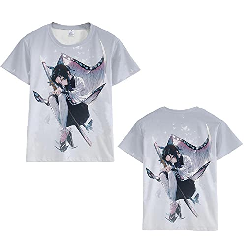 3D Impreso Fantástica Boy's T-Shirt,Blade Fantasma 3dt Camisa de Manga Corta Deportiva de Dibujos Animados Anime 3D Camiseta de los hombres-ATW2A2103147_Grande
