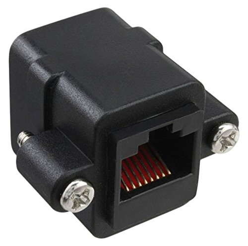 InLine 69990X Patchkabelkupplung Cat.5e, UTP, 2x RJ45 Buchse, zum Einbau