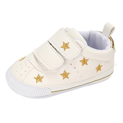 Matt Keely Baby Boys Girls Soft Sole Sneakers Infant PU Leather Shoes...