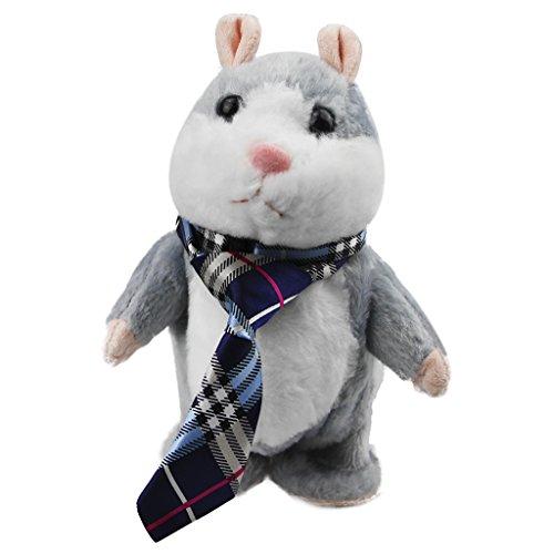 LY Doudou Peluche Bébé Jouet Velours Jouet Bébé 1er Age Hamster