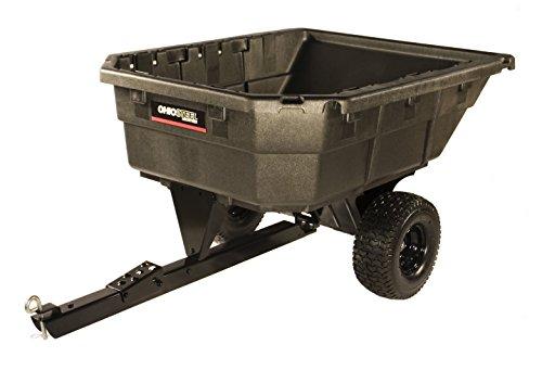 Ohio Steel 4048PSD Swivel Dump Cart for Lawn Tractor
