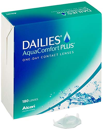 Dailies AquaComfort Plus Tageslinsen weich, 180 Stück, BC 8.7 mm, DIA 14.0 mm, -1.75 Dioptrien