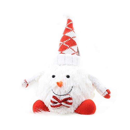 Weihnachtspuppe Dekoration, Figur Ornament, lebensechte Schaum Schneemann Puppe Figur perfekte Ornament Indoor Outdoor Dekoration Baumdekoration