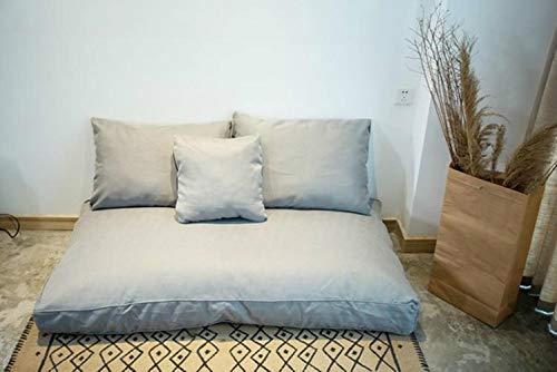 Linwei Lazy Sofa Bean Bag Sofa Single Bedroom Floor Cushion Floor Room Balcony Sofa Tatami Sofa Bed Room Chair,Style2