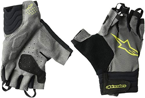 Alpinestars Rolling kurz Finger Handschuh, Herren, Steel Gray/Acid Yellow