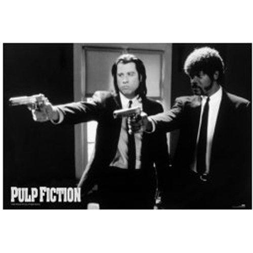 Pulp Fiction - Poster Guns (in 61 cm x 91,5 cm)