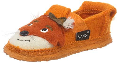 Nanga Unisex - Kinder Fox Niedrige Hausschuhe, Orange (Orange 70), 26 EU