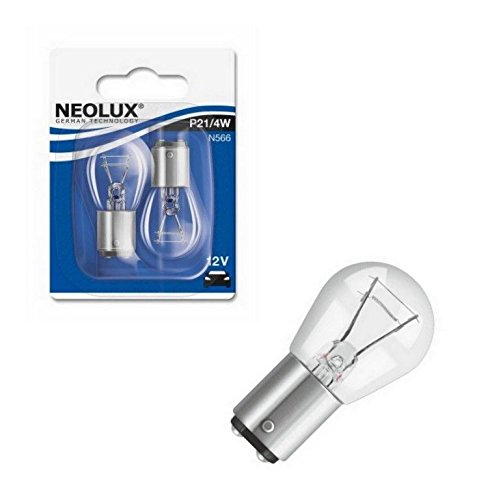 NEOLUX N566-02B P21/4W 12V 21/4W BAZ15d Blister 2 Stück NEOLUX® by OSRAM