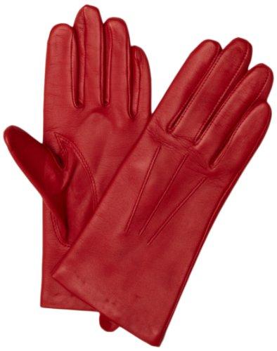 Dents Damen 7-1125 Handschuhe, Rot (Berry), (Herstellergröße:6.5)