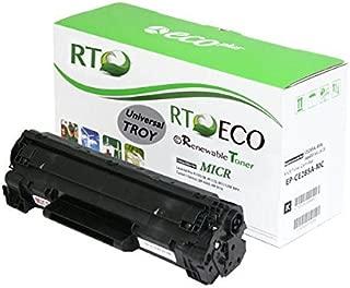 Renewable Toner Compatible MICR Toner Cartridge Replacement for Troy 02-81900-001 HP CE285A 85A P1102w P1109w M1212 M1214 M1217 M1132