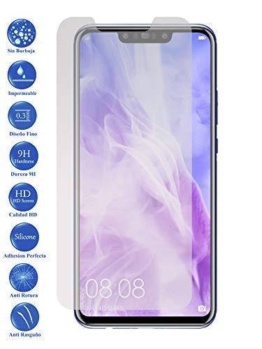 Todotumovil Protector de Pantalla Huawei Nova 3i de Cristal Templado Vidrio 9H para movil