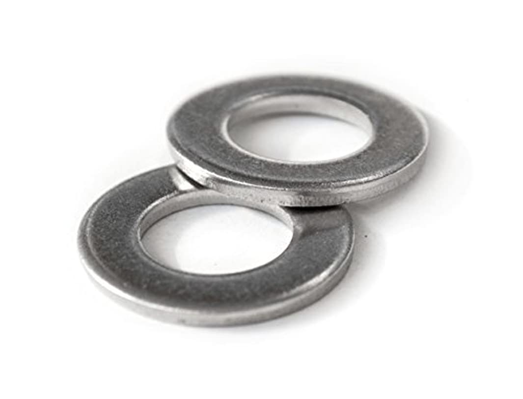 M14 Stainless Steel Flat Washers, Metric DIN 125 A / 125A 18-8 (A2) - MonsterBolts (10, M14)