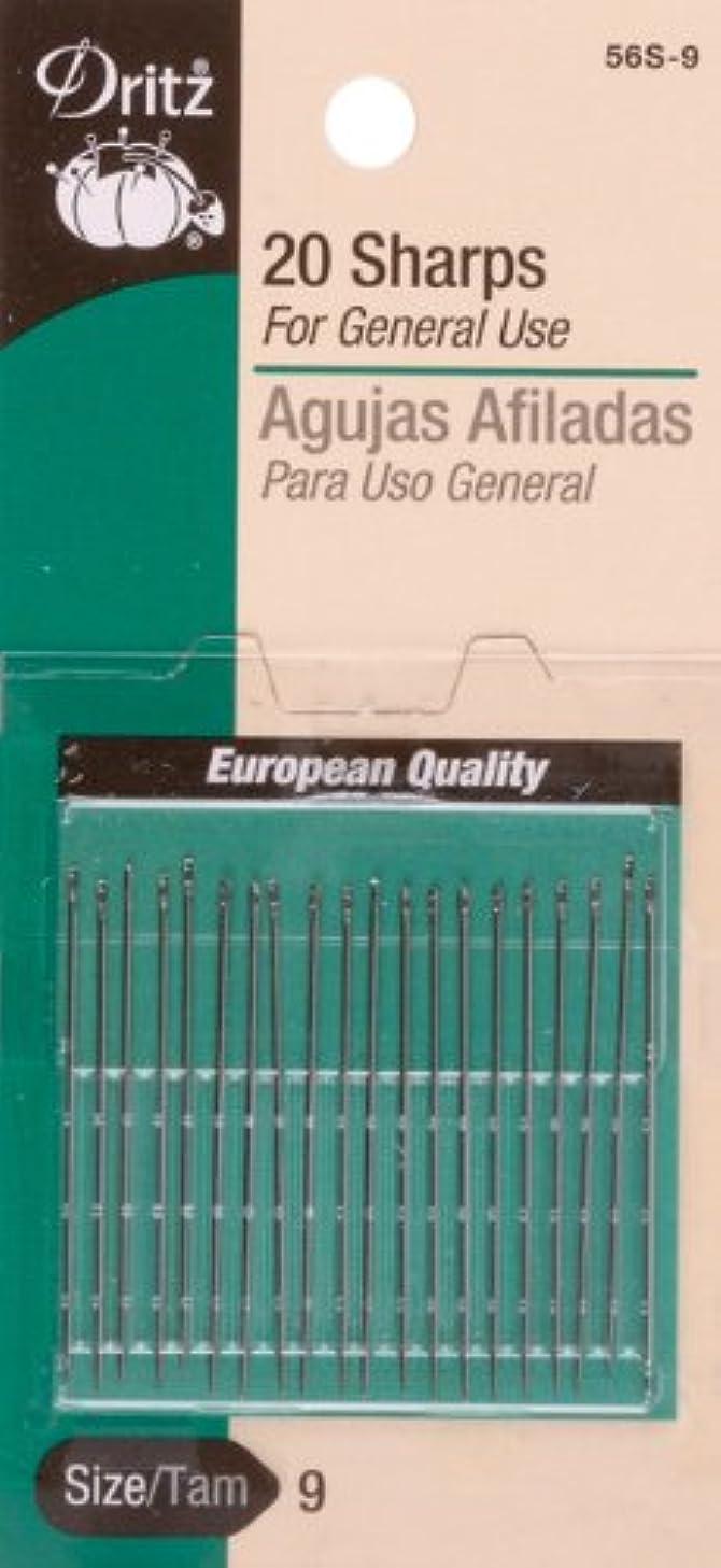 Dritz 56S-510 Sharps Hand Needles, Size 5/10 (20-Count)