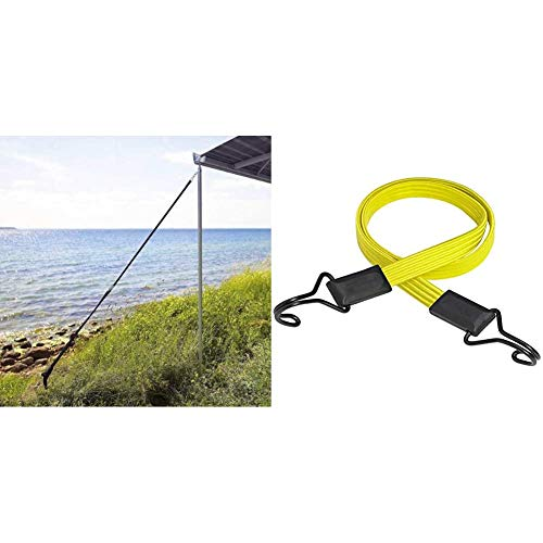Thule Sturmverspannung Hold Down Side Strap Kit & Master Lock - 3226EURDAT - Flaches Gummi Spannseil 100cm