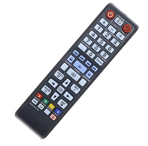 New AK59-00172A Blu-ray Remote Control Replaced for Samsung Bluray Player (AK5900172A) BD-F5700 BDHM57CZA BD-H6500 BD-H6500/ZA