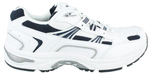 Vionic Men's Orthaheel Technology White/navy Walker - 8 2E US