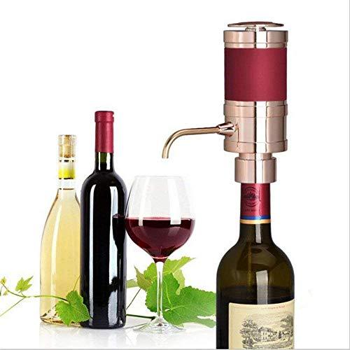 Huaaag Elektro-Wein DispenserOne Touch Automatik gießende Rotwein-Portable Instant Electric Wine...