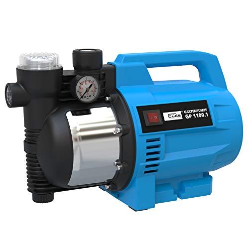 GÜDE Gartenpumpe Bewässerungspumpe 4600 l Pumpe 1100 Watt GP 1100.1