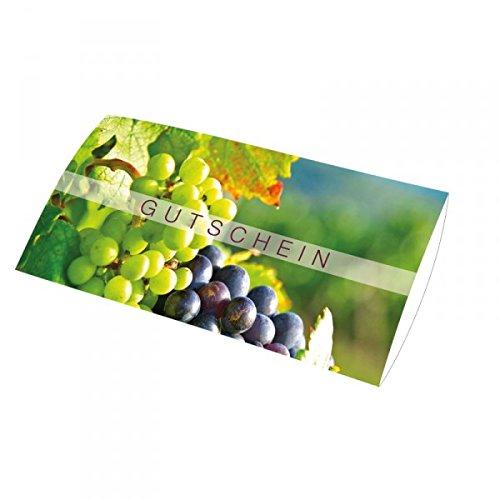 25 Geschenkgutscheine Wein DIN lang