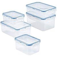 10-Piece Lock n Lock Easy Essentials Rectangular Food Storage Set