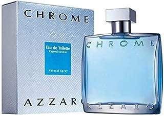 Azzārŏ Chrŏmė Cologne for Men 3.4 fl. Oz / 100 ml Eau De Toilette Spray