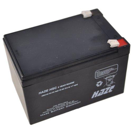 Haze HSC12-12 12V 12Ah Haze Sealed Lead Acid Agm Mobility Scooter Battery