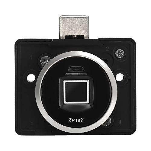 グーブ(Guub) ZP182 ロッカー・キャビネット電子錠 プライベート 指紋認証 ブラック