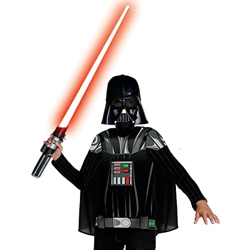 Rubie's Rubies 3881328–Darth Vader Dress Up Child Costume, L