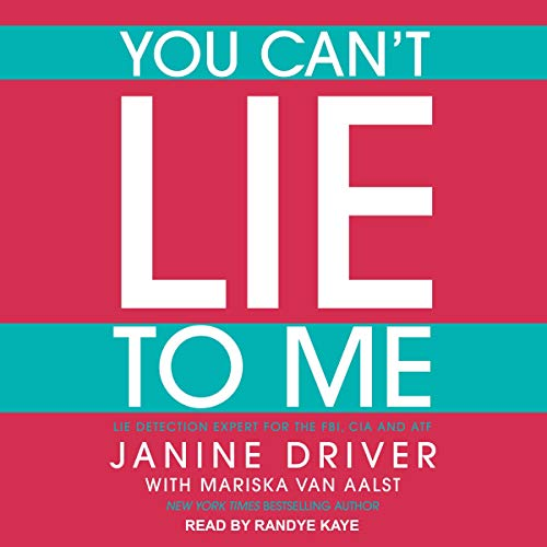 Couverture de You Can't Lie to Me
