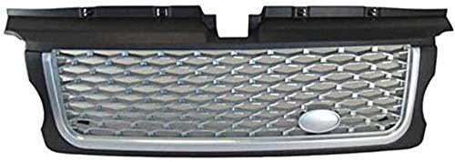 Coche Delantera Rejilla Frontales Parrilla Radiador para Land Rover Range Sport 2005-2009, Malla Nido Estilo Modificados Accesorios