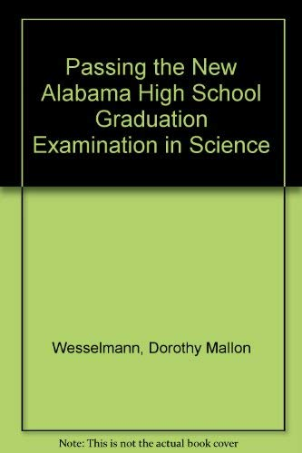 Passing the New Alabama High School Graduation Exa