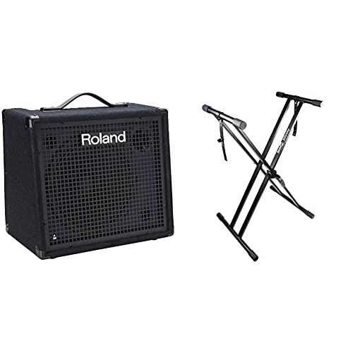 Roland KC-200 4 Channel Mixing Keyboard Amplifier, 100-Watt & RockJam Xfinity...