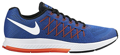 Nike Air Zoom Pegasus 32 - Zapatillas de Running Unisex, Color Azul Royal/Blanco/carmesí, Talla 9.5