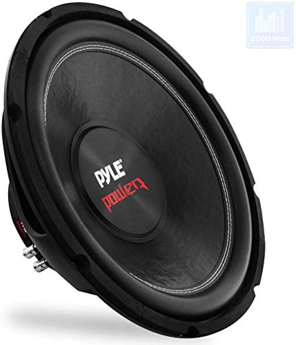 Pyle PLPW15D - Subwoofer 2000W 38 cm con bobina Dual Voice, 4 Ohm