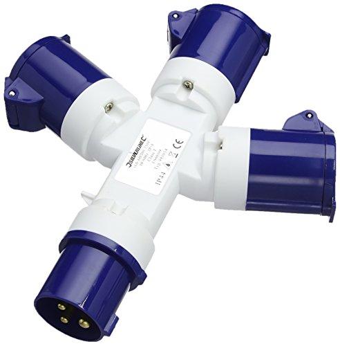 PowerMaster 993054 16A 3-Way Splitter 240V 3 Pin