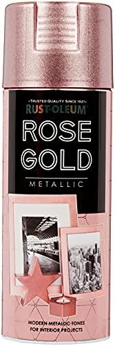 Rust-Oleum AE0533400UK Spray Paint, Rose Gol