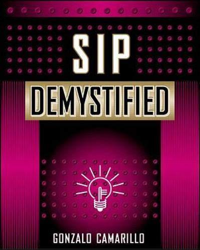 Sip Demystified (McGraw-Hill Telecom)