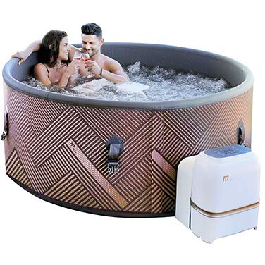 Trade-Line-Partner Premium Whirlpool Outdoor Mono Spa 173x173cm aufblasbar