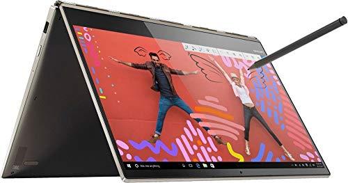 "2019 Lenovo Yoga 920 2-in-1 13.9"" FHD Touch-Screen Laptop | Intel Core i7-8550U Quad Core | 8GB DDR4 | 512GB SSD | Fingerprint Reader | Active Pen | Windows 10 Home | Bronze"