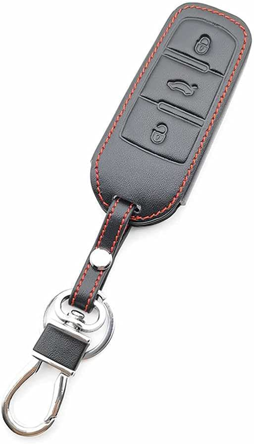 BUQDA Car Leather Key Shell Ranking TOP6 Max 88% OFF Cover Case Volkswagen for Passat