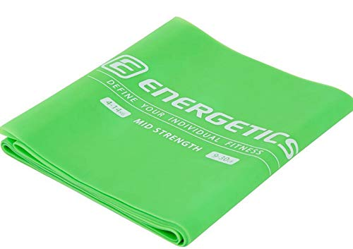 ENERGETICS Unisex – Erwachsene Physioband-83643 Fitnessband, Yellow Light, 1