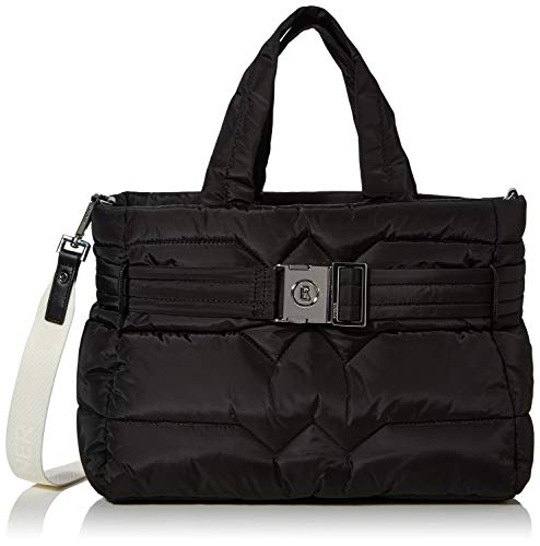 Bogner Damen Meribel Leonie Handbag Lhz Henkeltasche, Schwarz (Black), 14x28x33 cm