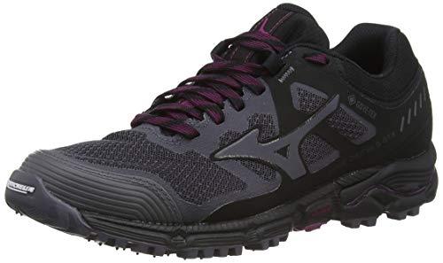 Mizuno Wave Daichi 5 GTX, Zapatillas de Running para Asfalto para Mujer, Gris (Pscope/Pscope/Black 36), 37 EU