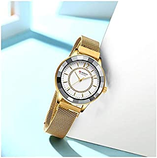 Curren Casual Watch For Women Analog Mixed - 9066